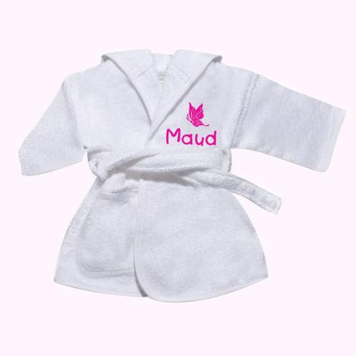 Babypalce - Badjas met naam